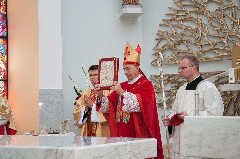 Konsekracja kościoła w Siedliskach
